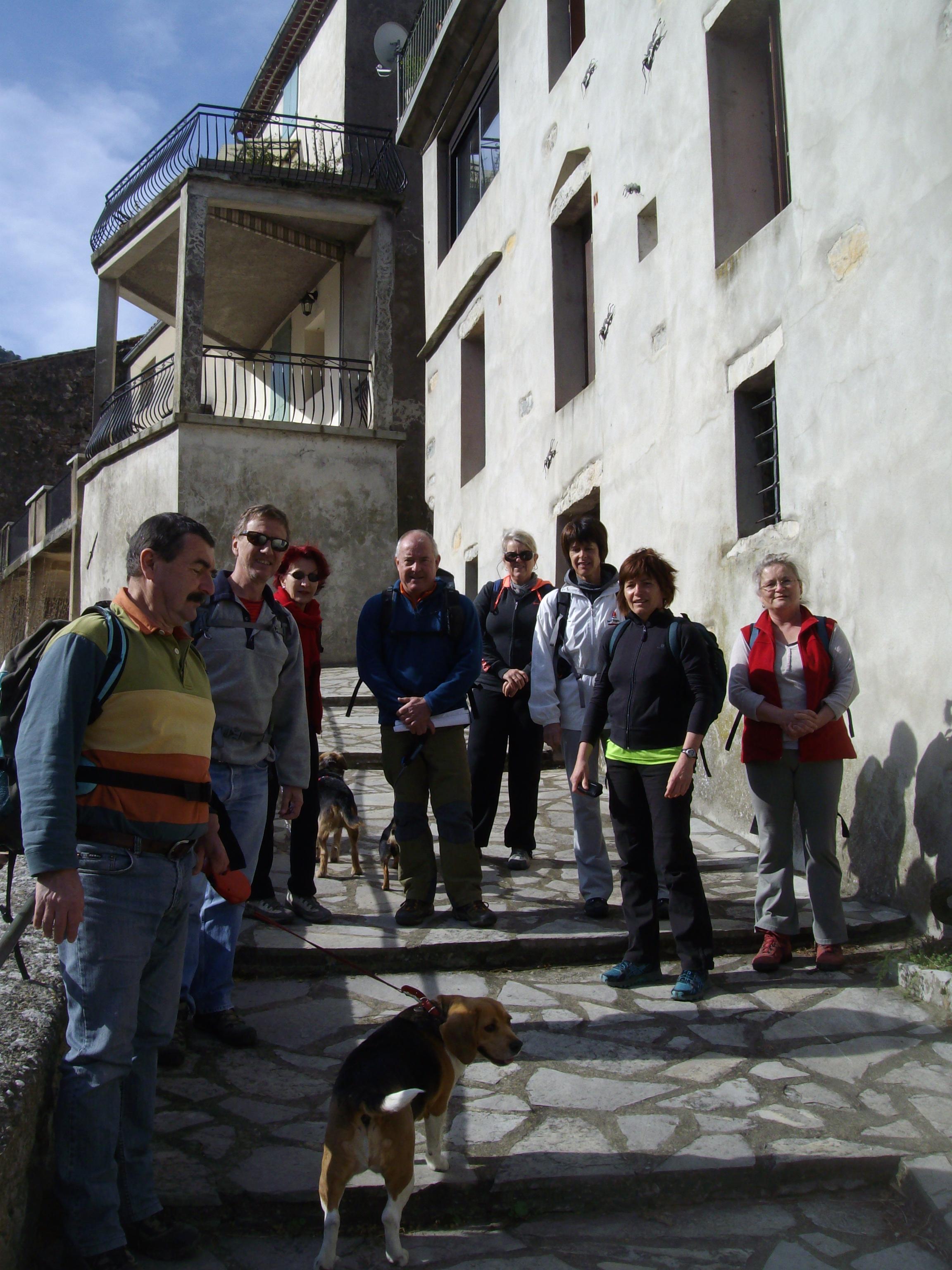 Au départ à Gorniès